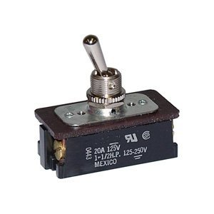 Heavy duty ac dc motor control toggle switch dpst on for Heavy duty dc motor