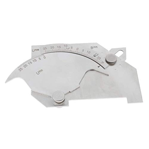 nouler Juler Bridge Cam Gauge, Metric and Imperial Reading, Made of Stainless Steel, Very Strong, Never Rust