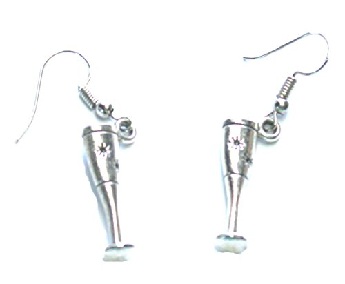 From the Heart Wine Enthusiast Wine or Champagne Glass Flute Earrings.Perfect Gift for Your Favorite Chef or Wine Lover. (Champagne Glass Earrings)