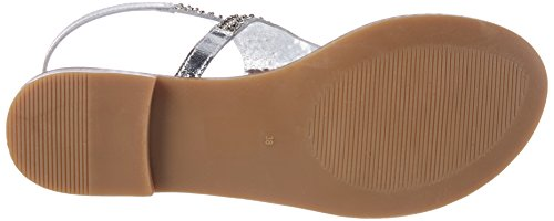 Inuovo Women's 7230 Flip Flops Silber (Silver) cheap exclusive QSGV8
