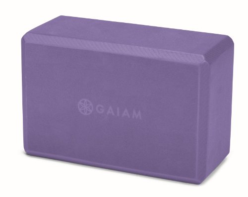 Gaiam Yoga Block, Purple