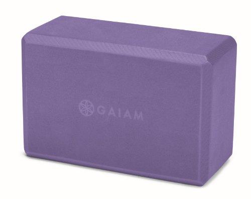 Gaiam Yoga Block, Purple