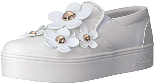Marc Jacobs Delle Donne Sneaker Margherita Slittamento Bianco