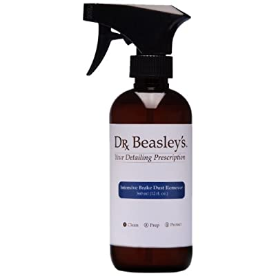 Dr. Beasley's Intensive Brake Dust Remover - 12 oz. Removes Brake Dust from Wheels, Fights Etching and Corrosion, Safe for Chrome and Aluminum Finishes: Automotive