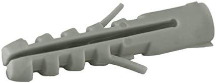 Sysfix 2155200 Lot de 25/chevilles de fixation Nys Nylon, 12/x 60/mm, 2/pattes