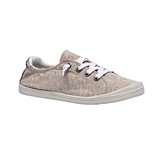 Dunes Sport Women's Reesa Canvas Sneaker, Natural, 8