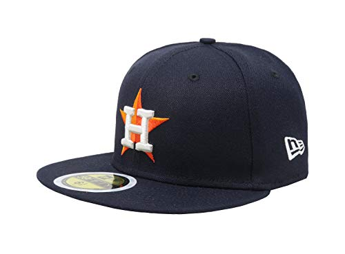 New Era 59Fifty AC Youth On Field Houston Astros Home (Navy) Fitted MLB Cap