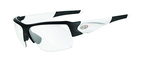 Tifosi Elder 1170306431 Wrap Sunglasses, Black & White, 61 - Cycling Budget Sunglasses