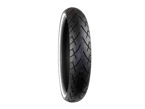 Full Bore 130/60B23 WW F 65V White Wall M66 Cruiser Motorcycle Tire 130/60-23 by Full Bore USA
