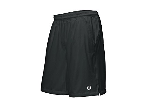 Wilson Herren Shorts Rush 10 Tennis Woven, Black, XL, WR1138700XL