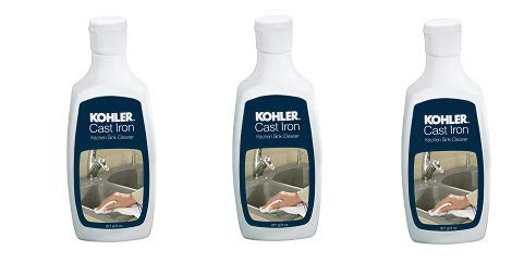 KOHLER K-1012525 Cast Iron Cleaner - 8 oz Bottle (3-(Pack)) by Kohler