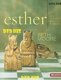 Esther: It's Tough Being a Woman DVD SET By Beth Moore (6 Dvds) (DVD-ROM) by Beth Moore