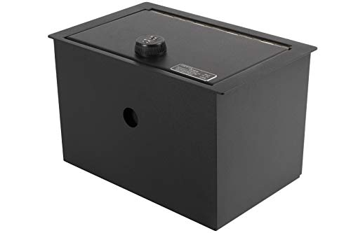 Lock'er Down Console Safe with 4 Digit Combo, Keep Personal Items Secure and Organized in Car, Compatible With 2015 Suburban, Tahoe, Yukon, Yukon XL, & Yukon Denali