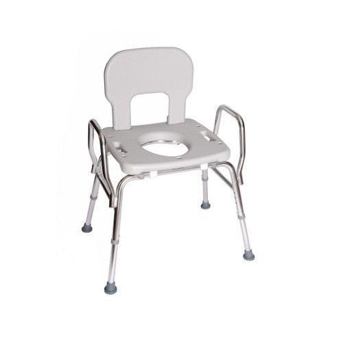 Amazon.com: Eagle Health Supplies   Shower Chair With Cut Out Seat, Back,  And Arms: Health U0026 Personal Care