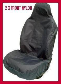 Fiat 500 08 On FRONT CAR SEAT COVERS