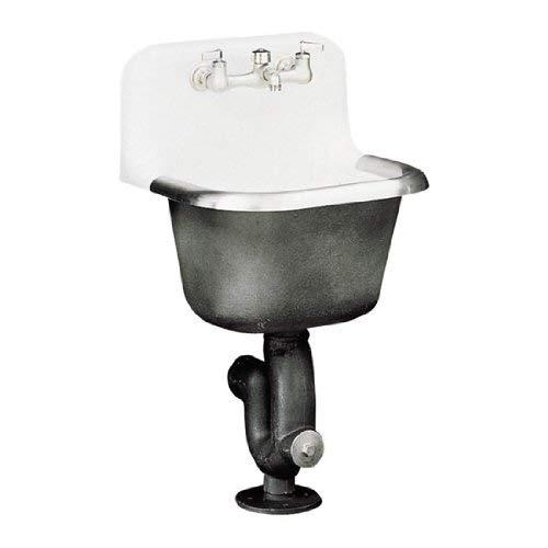 - KOHLER K-6716-0 Bannon Service Sink, White