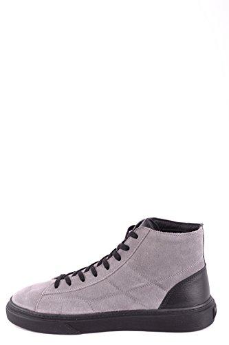 Hogan Herren MCBI148489O Grau Wildleder Hi Top Sneakers