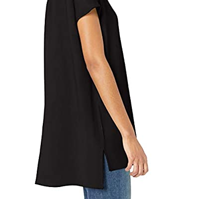 Brand - Daily Ritual Women's Supersoft Terry Dolman-Sleeve V-Neck Tunic: Clothing