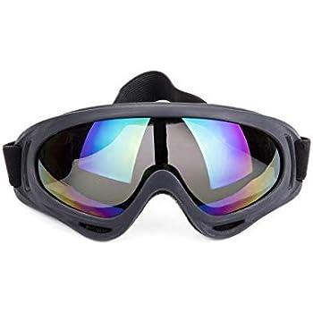 ac7d67a1dc Unisex Pilot Motorcycle Goggles Ski Snowboard Anti-UV Anti-fog ...