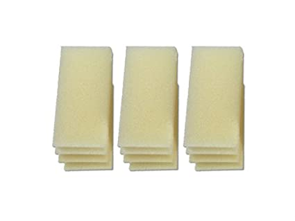 Pack of 12 105 106 LTWHOME Foam Filters Suitable For Fluval 104