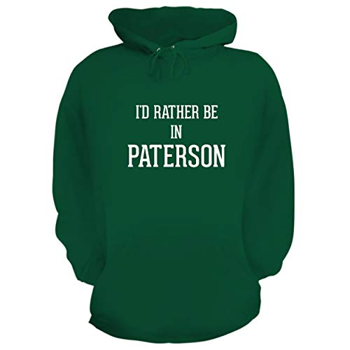 Jersey Replica 09 - I'd Rather Be in Paterson - Graphic Hoodie Sweatshirt, Green, Small