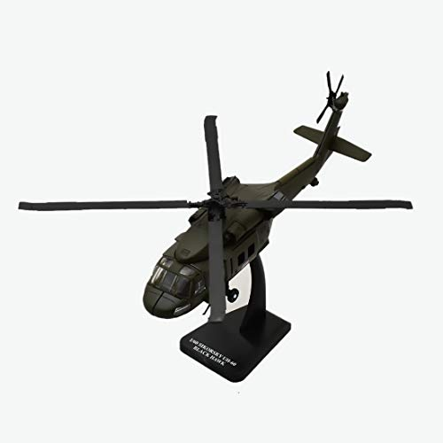 New Ray Sky Pilot UH-60 Black Hawk Diecast Helicopter Replica 1:60 Scale - New Ray Helicopter