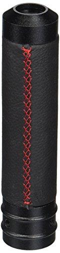 Spec-D Tuning HB-600RS-SD E-Brake Handle Handbrake Lever Grip Black Leather+Red Stitch