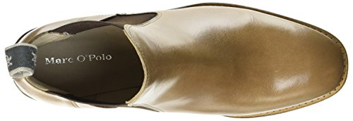 Marc OPolo Damen Mid Heel Chelsea 70714165101101 Boots Braun (Taupe)