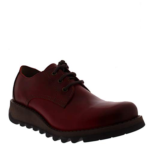 Scarpe Red Donna Fly London Red Stringate Rosso AwxqOOZag6