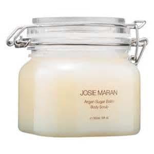 Josie Maran Argan Sugar Balm Body Scrub (Jumbo (10oz/300ml), Unscented)