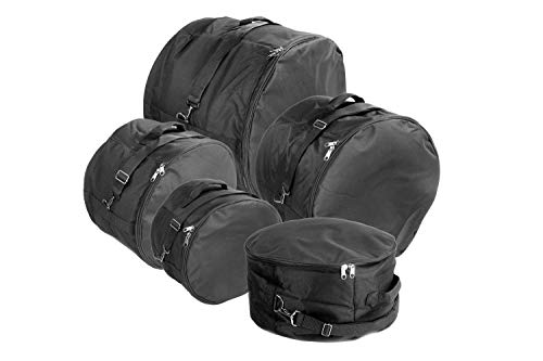 XSPRO DGB-XS5 5 Piece Standard Deluxe Padded Drum Bag -