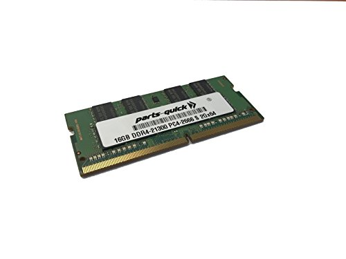 16GB Memory Upgrade for Dell Inspiron 15 3000 Series (3584) 2Rx8 Compatible RAM DDR4 2666MHz SODIMM (PARTS-QUICK - Dell Part Sodimm