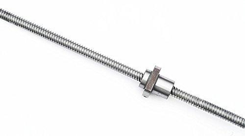 TEN-HIGH Ballscrew High Lead screw CNC parts SFE5050 RM5050 50mm 1500mm with Metal Deflector Ballscrew NUT