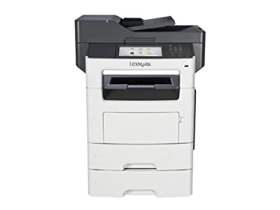 Lexmark MX611DTE Monochrome Printer with Scanner, Copier and Fax - 35S6800