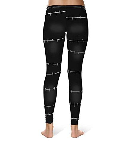 Queen of Cases - Legging de sport - Femme noir noir taille unique