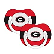 Georgia Bulldogs Pacifiers 2 Pack