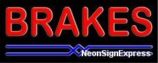 - Brakes Neon Sign