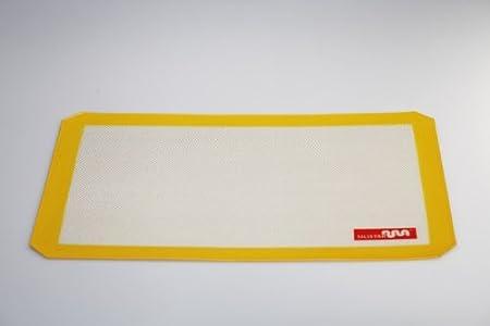 Tapis de Cuisson Silicone Star 29/cm x 38,5/cm Plaque /à g/énoise Anti-adh/ésif pour Four avec Surface r/éutilisables/ /2500/Fois de la Maison Benley/ /en 5/Couleurs Vert