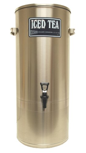 Grindmaster-Cecilware S10 w/Handles Stainless Steel Iced Tea Dispenser with Handle, 10-Gallon