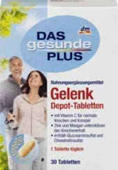 DAS gesunde PLUS Gelenk Depot-Tabletten, 1 x 30 St Nahrungsergänzungsmittel