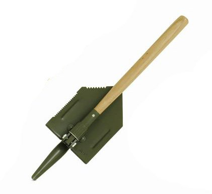 Mil-Tec US Military Style Folding Shovel with Pick by Miltec