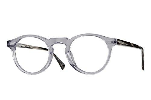 22807d5f662 Amazon.com  Oliver Peoples 5186 Men s Gregory Peck Workman Grey Oval 45mm  Eyeglasses  Clothing