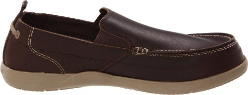 Crocs Mens Harborline Loafer Espresso / Khaki