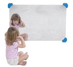 Children's Factory Rectangle Mirror, 24 X 36 CF332-491 by Children's Factory