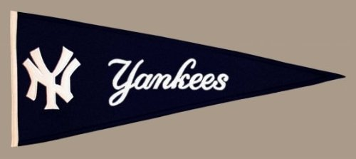 MLB New York Yankees Medium Pennant (Pennant Traditions Vintage)
