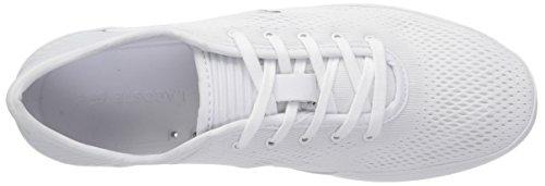 Lacoste Heren L.ydro Veter Sneakers Wit / Wit Textiel