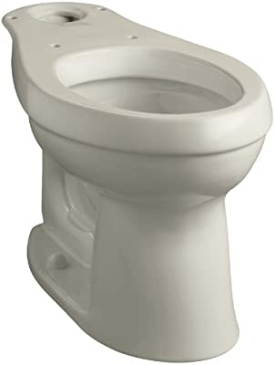 sells closer at new authentic Kohler K-4309-G9 Cimarron Comfort Height Elongated Toilet Bowl, Sandbar