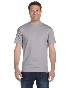 Hanes 5180 Hanes Beefy-T Adult Short-Sleeve T-Shirt,Oxford Gray,Small