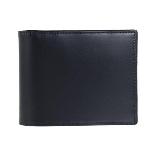 [エッティンガー]ETTINGER 折財布(小銭入れ付) BILLFOLD WITH 3 C/C & COIN PURSE BRIDLE HIDE COLLECTION BH141JR [並行輸入品] B00HYQCTWA ネイビー