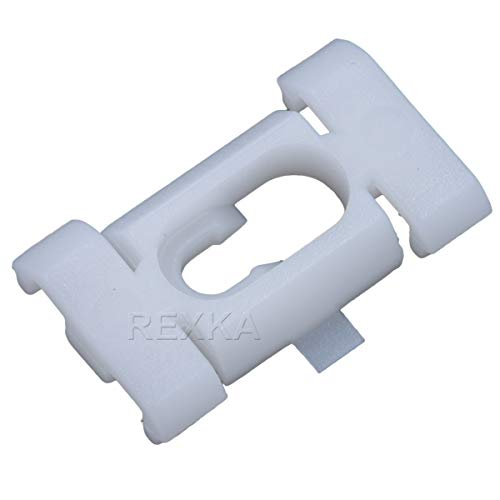 Rexka 30 pcs Quarter Belt Reveal Moulding Clips for GM 20175051 Cadillac Fleetwood Chevrolet Caprice Impala Oldsmobile Cutlass Pontiac Parisienne